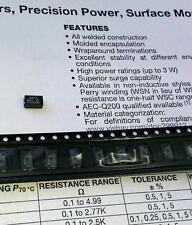 5 Stück WSC1 0,1 Ohm 1W SMD-Drahtwiderstand Wirewound Resistor / 2515 (M1570)