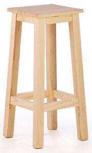 Taburete de bar taburete alto barra taburete Alto cocina madera
