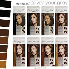 Cubre tus Gris Para Cepillar Color Pelo Máscara marrón medio, oscuro, negro