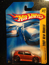 2007 Hot Wheels Volkswagen Golf GTI  KMART Exclusive