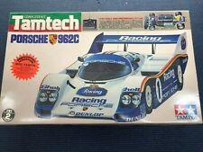 NIB Vintage TAMIYA TAMTECH Porsche 962C Complete Kit RC race car 1/24