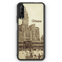 Vintage Panorama Makkah Mekka Silikon Hülle für Huawei P Smart Pro Motiv Desi...
