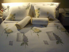 """Duvet Cover, Shams, Sm Bolsters,Sheets """"SHEFTEX"""" Signature Collection Queen 9 Pc"""