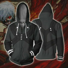 Tokyo Ghoul Hoodie Ken Kaneki Cosplay Coat Anime Sweatshirt Hooded Jacket Tops