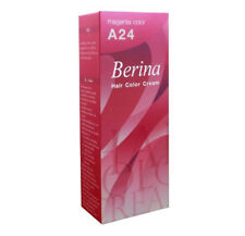 Berina Permanent Hair Dye Color Colour Cream A24 Magenta