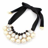 Halskette Abend Kette Statementkette Charms Necklace Collier L528