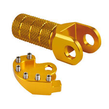 For Suzuki DRZ400 00-19 Brake Pedal Step Plate and Shift Lever Tip Gold Anodized