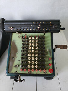 Vintage Monroe Educator Calculating/Adding Machine AS IS Condition