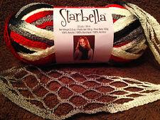 New Premier Starbella Collegiate Ruffle Scarf Yarn Sashay Net Mesh Lace New