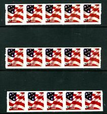 US 3632A, 2003 FLAG, THREE PNC5'S, #S1111, S3333 AND S4444, SADH  MNH   (US014)