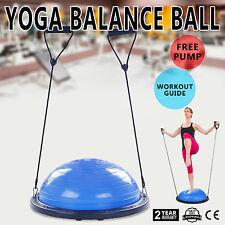 Bosu Ball Balance Trainer Home Gym Fitness Pro Workout Yoga Cardio Exercise