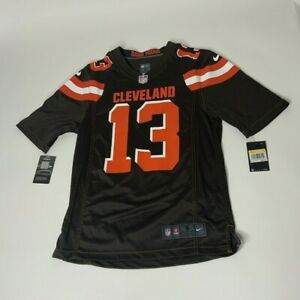 Nike Cleveland Browns Odell Beckham Jr #13 Brown On Field Mens Jersey Sz S NWT