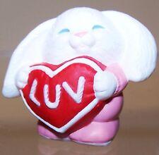 1991 New Hallmark Valentine Merry Miniature Luv Bunny Mint Never Used Qsm1537