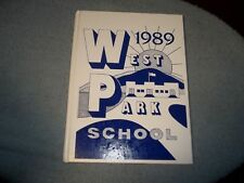 1989 WEST PARK SCHOOL YEARBOOK WEST PARK NY