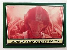 Star Wars Rogue One Mission Briefing #90 John D. Branon (Red Four) GREEN