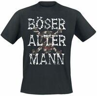 Böser alter Mann  Männer T-Shirt schwarz   Bösewichte, Fun-Merch
