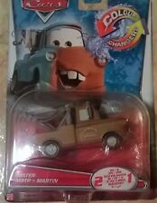 DISNEY CARS color changers 2in1 Old & Young Hook-Mater-McQueen cambio colore