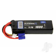 Radient LiPo Battery 3S 1800mAh 11.1V 20C EC3 Connector Plug