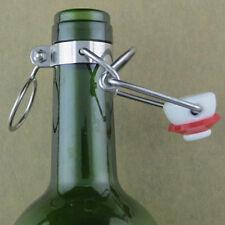 Homebrew Swing Ez Cap Flip Beer Bottles Top Stopper Root Replacement Tops 12 PCS