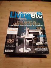 UK Living Etc Magazine Homes October 2007 Best Modern Design Italian Classics