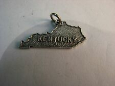 Vintage The Blue Grass State sterling charm