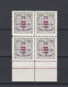 Portugal - Geographical Society Nice Block of 4 MNH 1
