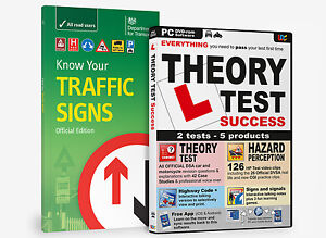 KNOW YOUR TRAFFIC SIGNS & DRIVING THEORY TEST SUCCESS DVD ROM 2021 BNIB