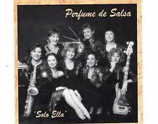 CD PERFUME DE SALSA solo ella HOLLAND 1993 EX