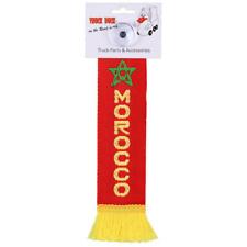 LKW Auto Minischal Marokko Morocco Mini Schal Wimpel Saugnapf Spiegel Deko Fahne