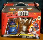 NEW Ninja Bots Hilarious Battling Robots with 3 Unique Weapons, Trainer Included