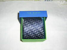Ted Baker London Navy Silver Tie   NEW In Box Retails $95.00