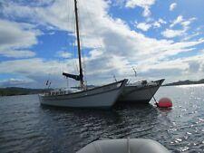 Classic Wharram sailing catamaran