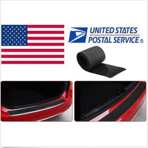 Car Rubber Rear Bumper Protector Guard Sticker Decorative Anti Scratch For BMW