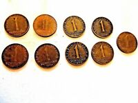 """1959-77 Austrian One Schilling Coin """"Edelweiss Flowers"""" One Coin Per Purchase"""