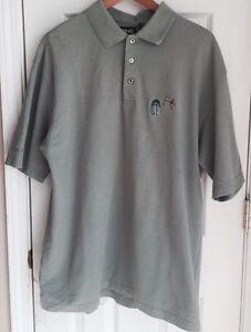 Ping Olive Green Golf Short Sleeve Polo Southwestern Logo Men's Size XL