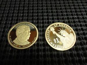 2012-S  Proof Chester Arthur  Presidential Dollar