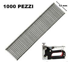 SET 1000 CHIODI PER CHIODATRICE SPARACHIODI  MANUALE 1.2 X 12 mm