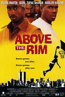 """ABOVE THE RIM Movie Poster [Licensed-New-USA] 27x40"""" Theater Size (2Pac) 1994"""