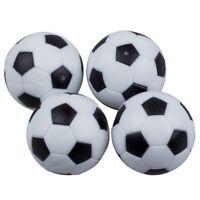 G2B7 4pcs 32mm Plastic Soccer Table Foosball Ball Football Fussball