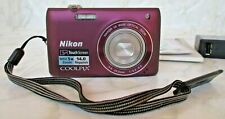 Nikon Coolpix S4100 14.0 Megapixel Nikkor 5x Wide Optical  Zoom Touch Screen