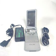 Sony CLIE PEG-NR70V/U Handheld Color PDA w/ Power Adapter Stylus Made in Japan