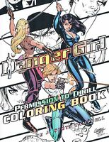 Danger Girl: Permission to Thrill Adult Coloring Book by J. Scott Campbell 2016