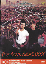 THE BOYS NEXT DOOR Charlie Sheen / Maxwell Caulifield DVD - All Zone - New - PAL