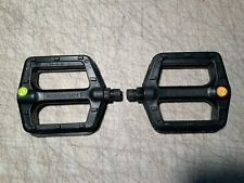 """Schwinn Bicycles Platform Bicycle Pedals (9/16"""" Spindle) New"""
