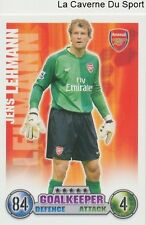 JENS LEHMANN # DEUTSCHALND ARSENAL.FC CARD PREMIER LEAGUE 2008 TOPPS