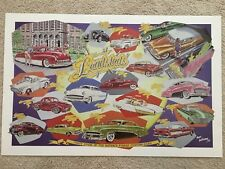 Mercury Leadsled Poster by Robert Williams - RARE and in PERFECT Condition
