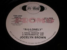 Jocelyn Brown: R-U-Lonely 12""