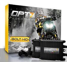 OPT7 Snowmobile AC HID Kit H4 9003 Hi-Lo 10000K Blue Xenon Headlight Light Bulbs