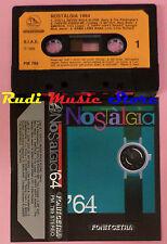 MC NOSTALGIA '64 compilation PETULA CLARK DRIFTERS LITTLE RICHARD  cd lp dvd vhs