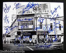 FILLMORE WEST 11x14 Signed Photo By 17-Johnny Winter-Country Joe-Kreiger-JSA COA